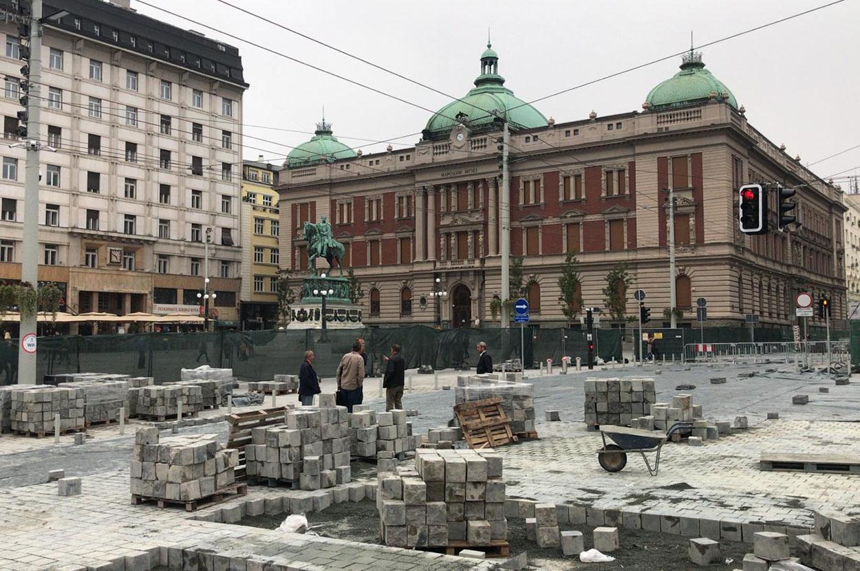 Beogradske Rekonstrukcije Rekonstruisanih Ulica Istinomer