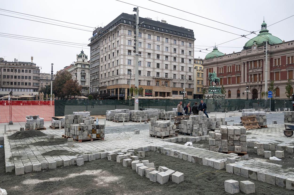 Rekonstrukcija Trga republike